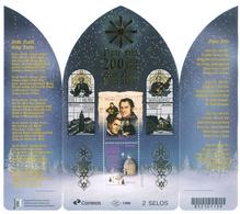 """BRAZIL  2018  - CHRISTMAS 2018 - 200 YEARS OF """"SILENT NIGHT"""" SONG  - SOUVENIR SHEET 2V -  MNH - Brésil"""