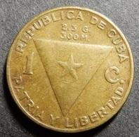 Cuba 1 Centavo 1953 J. Marti Centennial - Cuba