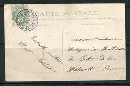 FRANCE- Carte Postale De 1907- Y&T N°111 - L'Île-Bouchard
