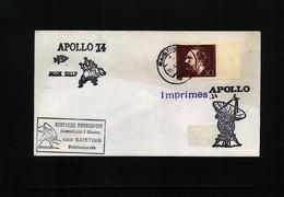 Germany / Deutschland 1971 Space / Raumfahrt Apollo 14 Raisting Earth Station Interesting Cover - Briefe U. Dokumente