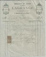 ROCHEFORT SUR MER LAGRANGE EBENISTERIE LITERIE GLACES TAPIS SIEGES GARNIS PLUME DUVET COUTIL LAINE TOILE ANNEE 1897 - France