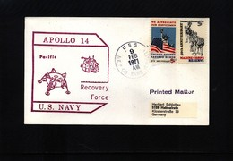 Australia 1971 Space / Raumfahrt Apollo 14 Recovery Force Interesting Cover - Briefe U. Dokumente