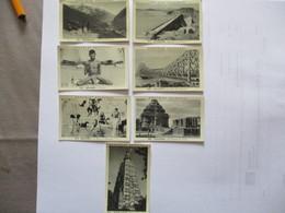 7 IMAGES CHOCOLAT DELESPAUL N°570,572,573,576,577,578,582 CACHEMIRE,BENARES,DAMODAR,CALCUTTA,KONARAK,BUDH GAYA - Vieux Papiers