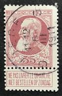N. 77, 35 Cent Brun-rouge, Obl. Liege 6/3/1911 - 1905 Grosse Barbe