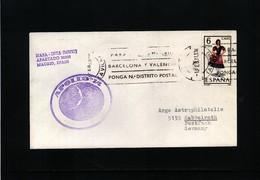 Spain 1971 Space / Raumfahrt  Apollo 14 Interesting Cover - Briefe U. Dokumente