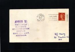 Australia 1971 Space / Raumfahrt  Apollo 14  Interesting Cover - Ozeanien