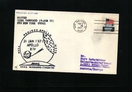 USA 1971 Space / Raumfahrt  Apollo 14  Interesting Cover - Briefe U. Dokumente