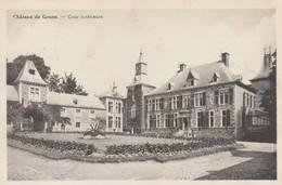 Chateau De Grune , Cour Intérieure (pension De Famille : Praile - Picard ) - Nassogne