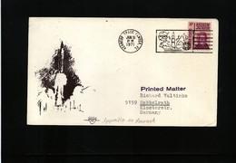 USA 1971 Space / Raumfahrt  Apollo 14 Launch Interesting Cover - Briefe U. Dokumente