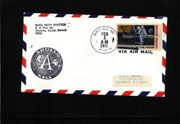 USA 1971 Space / Raumfahrt  Apollo 14 Hawaii Earth Station Waimea Interesting Cover - Briefe U. Dokumente