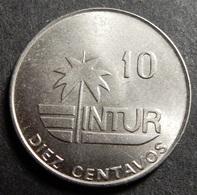 Cuba Intur 10 Centavos 1981 Very High Grade - Cuba