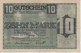 BILLETE DE ALEMANIA DE 10 MARK DEL AÑO 1918 (BANKNOTE) - 10 Mark