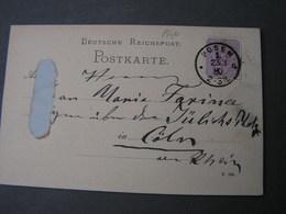 DR ..  Polen Aus Posen , Karte  1880 - Deutschland