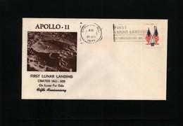 USA 1974 Space / Raumfahrt  Apollo 11 Interesting Cover - Briefe U. Dokumente