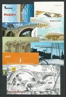 """EUROPA 2018- TEMA """"PUENTES - BRIDGES - BRÜCKEN - PONTS- COLLECTION  De 17 CARNETS + 2 CARNETS PRESTIGE - OFFICIELS EMIS - Colecciones"""