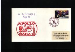 USA 1974 Space / Raumfahrt  Apollo 10 Interesting Cover - Briefe U. Dokumente