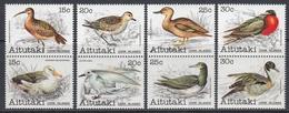 Aitutaki 1981 - Definitive Stamps: Birds - Vertical Pairs Mi 386-393 ** MNH - Aitutaki