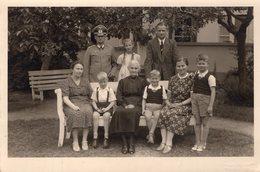 WW II Soldat Mit Familie 10 X15 - Guerra, Militari