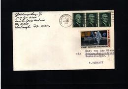 USA 1970 Space / Raumfahrt  Interesting Cover - Briefe U. Dokumente
