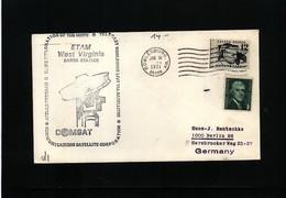 USA 1971 Space / Raumfahrt Apollo 14 COMSAT Earth Station Interesting Cover - Briefe U. Dokumente