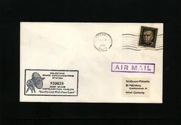 USA 1971 Space / Raumfahrt Goldstone Space Communications Station Interesting Cover - Briefe U. Dokumente