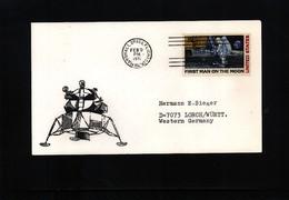 USA 1971 Space / Raumfahrt Interesting Cover - Briefe U. Dokumente
