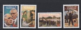 ANTIGUA & BARBUDA - 1991 The 100th Anniversary Of The Birth Of Charles De Gaulle, 1890-1970   M502 - Antigua Et Barbuda (1981-...)