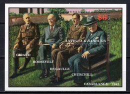 ANTIGUA & BARBUDA - 1991 The 100th Anniversary Of The Birth Of Charles De Gaulle, 1890-1970   M504 - Antigua Et Barbuda (1981-...)