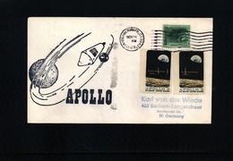 USA 1969 Space / Raumfahrt  Apollo Interesting Cover - Briefe U. Dokumente