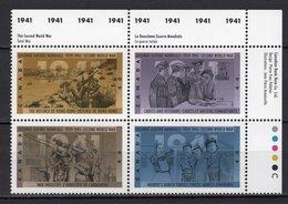 CANADA - 1991 The 50th Anniversary Of Second World War   M508 - 1952-.... Regno Di Elizabeth II