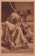 MENDICANTE ARABO - Libia