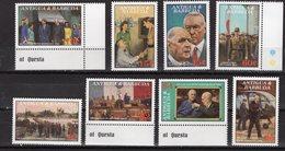 ANTIGUA & BARBUDA - 1991 The 100th Anniversary Of The Birth Of Charles De Gaulle, 1890-1970   M509 - Antigua E Barbuda (1981-...)