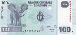 CONGO DEMOCRATIC REPUBLIC 100 FRANCS 2007 P-98 UNC  [CD320a] - Kongo