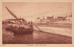 LIBIA - Bengasi /  La Banchina - Libia
