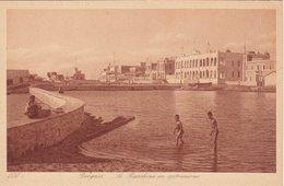 LIBIA - Bengasi /  La Banchina In Costruzione - Libia