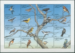 Georgien 1996 Singvögel, Greifvögel 152/67 K Postfrisch (C30271) - Géorgie
