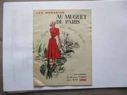 LES MAGASINS AU MUGUET DE PARIS ETE 1950 CATALOGUE OFFERT PAR LA SUCCURSALE DE MARSEILLE 46 CANNEBIERE - Publicités