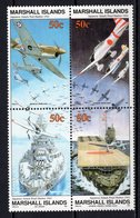 MARSHALL ISLANDS - 1991 History Of The Second World War - Japanese Attack On Pearl Harbor, 1941    M513 - Marshall