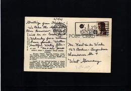 USA 1969 Space / Raumfahrt  Kennedy Space Center Interesting Postcard - Briefe U. Dokumente