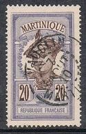 MARTINIQUE N°67  Oblitération De Vauclin - Gebraucht