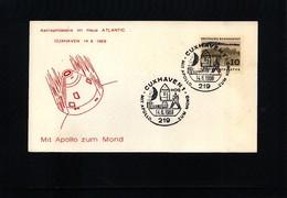 Germany / Deutschland 1969 Space / Raumfahrt Apollo  Interesting Cover - Briefe U. Dokumente