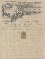 GEMOZAC E LALEILLE INSTALLATIONS GENERALES D ELEVATION D EAU POMPES POUR PUITS ARROSAGE PURIN MECANICIEN POMPIER 1902 - Non Classés