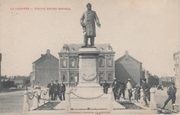 CPA Précurseur La Louvière - Statue Amand Mairaux (avec Très Belle Animation) - La Louvière