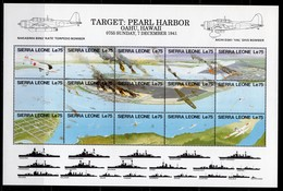 SIERRA LEONE  - 1991 The 50th Anniversary Of Japanese Attack On Pearl Harbor   M519 - Sierra Leone (1961-...)
