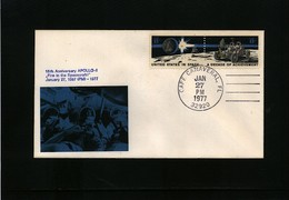 USA 1977 Space / Raumfahrt  Apollo Interesting Cover - Briefe U. Dokumente