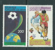 Bénin PA  N° 295 / 96 X  Elimination De La Coupe Du Monde De Football.  Les 2 Valeurs Trace De Charnière Sinon TB - Bénin – Dahomey (1960-...)