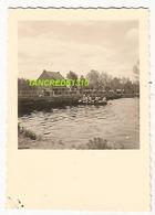 WW2 PHOTO ORIGINALE Pont Génie Soldat Allemand Sur ESCAUT SCHELDE Mais Où ? FRANCE  BELGIQUE BELGIË - 1939-45