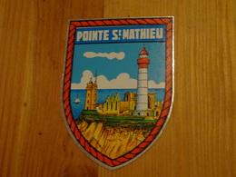Blason écusson Adhésif Autocollant Pointe St Mathieu (phares) - Obj. 'Souvenir De'