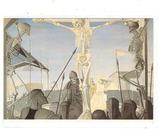 PAUL DELVAUX - CRUCIFIXION - Peintures & Tableaux