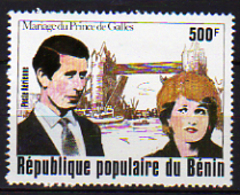 Bénin PA  N° 297 X Mariage Royal Du Prince Charles Et De Lady Diana Trace De Charnière Sinon TB - Bénin – Dahomey (1960-...)